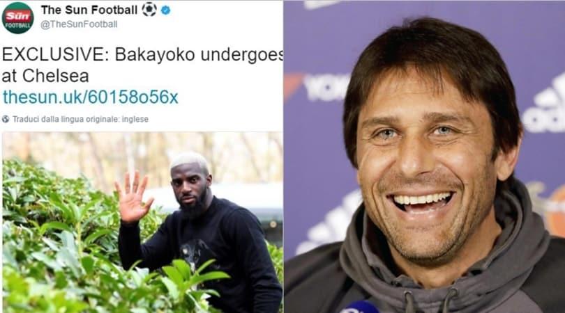 Calciomercato: «Chelsea, Bakayoko ha fatto le visite mediche»