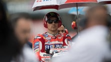 MotoGp Sachsenring, Lorenzo: «In Germania per ripartire»