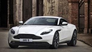 Aston Martin, la DB11 diventa anche V8
