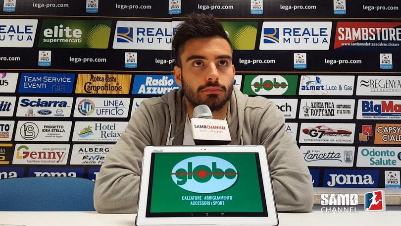 Calciomercato Sambenedettese, Mattia rinnova per una stagione