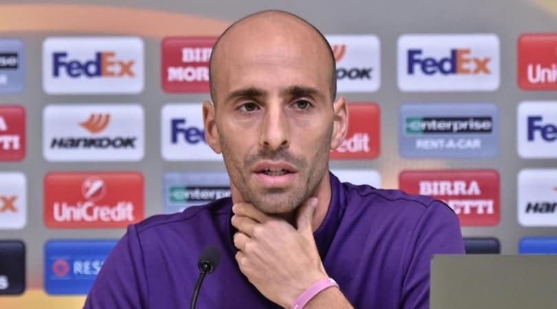 Borja Valero: Se resto finisco in tribuna