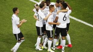 Confederations Cup, Germania-Messico 4-1:Rüdiger in finale con il Cile