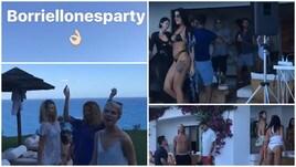 Borriello, festa esagerata a Ibiza. C'è anche Cannavaro