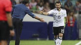 Confederations Cup: Cile-Germania, tedeschi avanti di un soffio