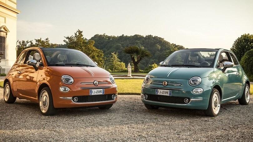 Fiat 500, ecco la nuova serie speciale Anniversario