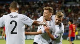 Europei Under 21: Germania-Spagna 1-0: decide Weiser