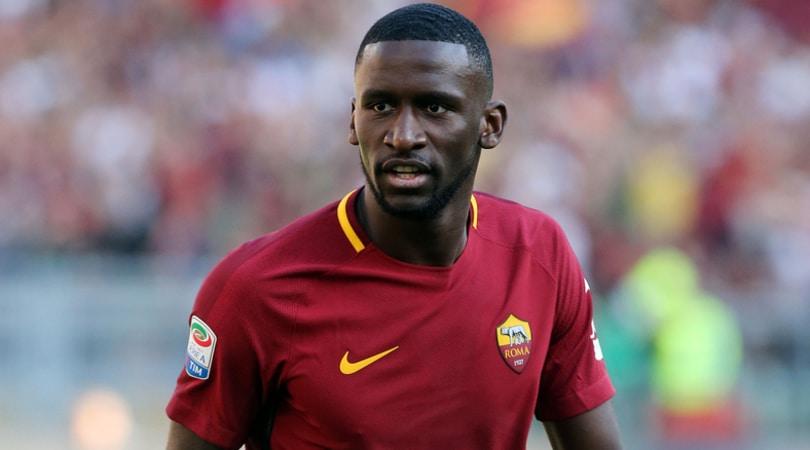 Roma: Conte chiama Rudiger, c'è l'offerta del Chelsea