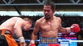 Pacquiao sconfitto ai punti da Horn: le immagini del match