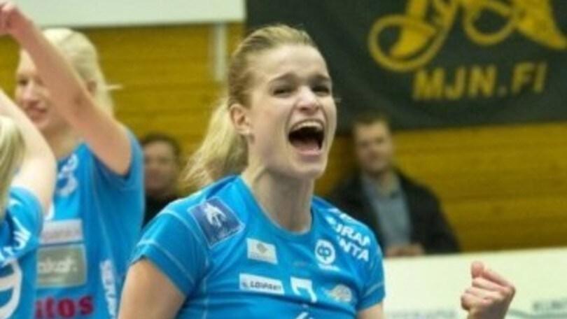 Volley: A2 Femminile, a Brescia arriva Pauliina Vilponen