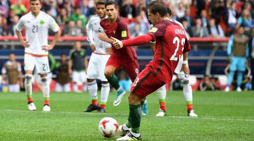 Confederations Cup, Portogallo-Messico 2-1: decide Adrien Silva dal dischetto