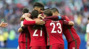 Portogallo-Messico, le foto della partita