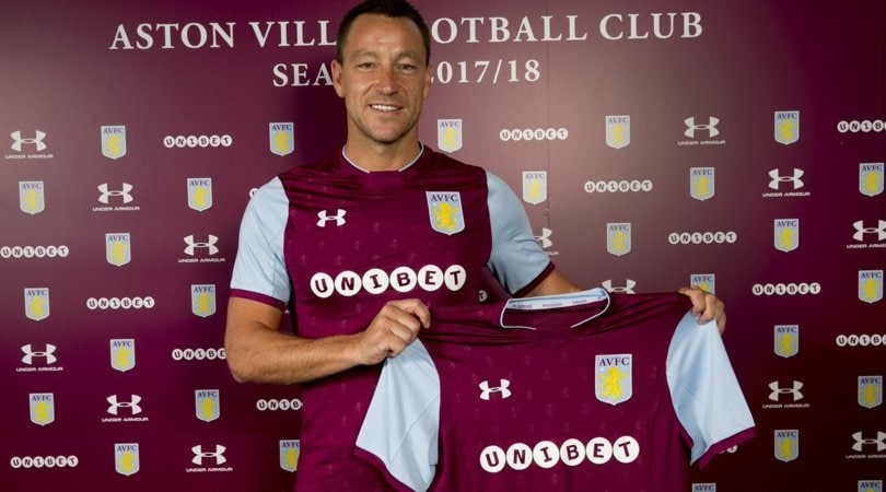 Ufficiale, John Terry riparte dall'Aston Villa: giocherà in Championship