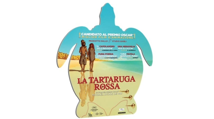 """Il 6 luglio esce il dvd del capolavoro """"La tartaruga rossa"""""""