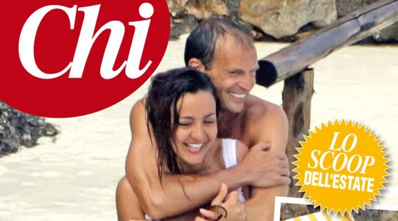 Juventus, Allegri e Ambra Angiolini: è amore