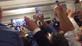 La notte di Maradona a Napoli