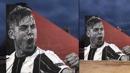 Juve, per Dybala un murale in Argentina