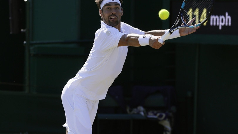Wimbledon, a 8,25 l'impresa di Fognini contro Murray