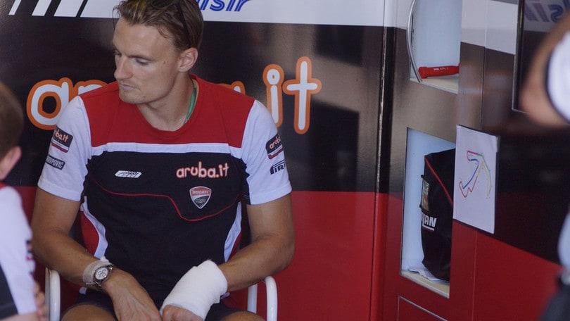SBK Ducati, Davies ottimista: «Mi sento bene, sono fiducioso»