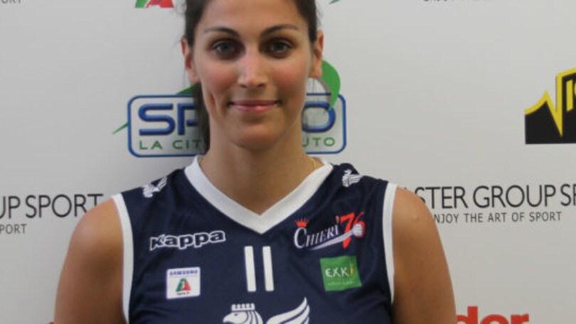 Volley: A2 Femminile, Costanza Manfredini nuovo opposto di Chieri