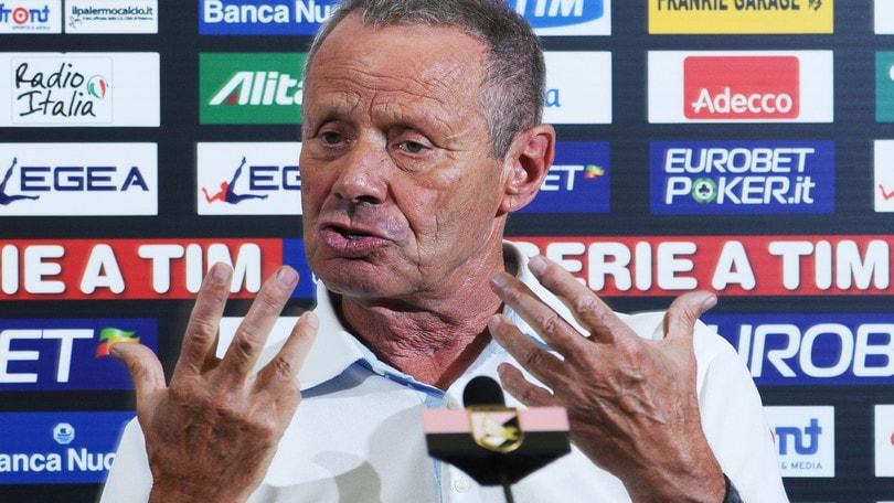 Serie B Palermo, Zamparini: «Brutta sconfitta col Foggia»