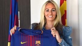 Toni Duggan, la sexy attaccante del Barcellona