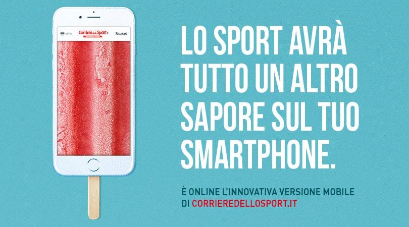 Online il nuovo Mobile Site di Corriere dello Sport