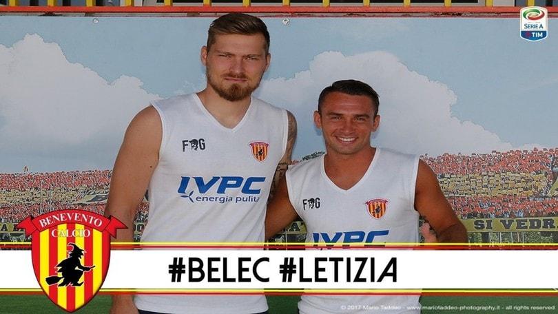Calciomercato Benevento, che tris: Puscas, Belec e Letizia