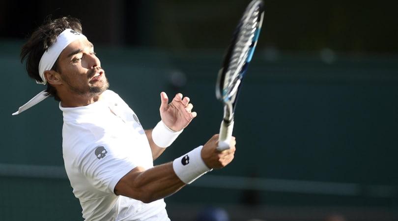 Wimbledon, Fognini non ce la fa: Murray passa agli ottavi