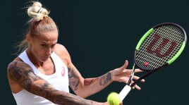 Polona Hercog, la tennista più tatuata di Wimbledon