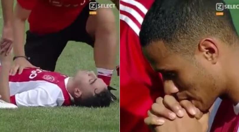 Ajax, terrore in campo: malore per Nouri, trasportato in elicottero d'urgenza