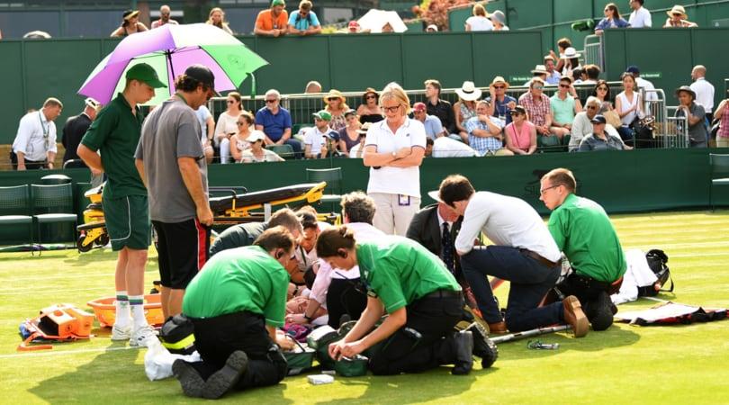 Mattek Sands negli Usa per operarsi al ginocchio dopo l'infortunio a Wimbledon