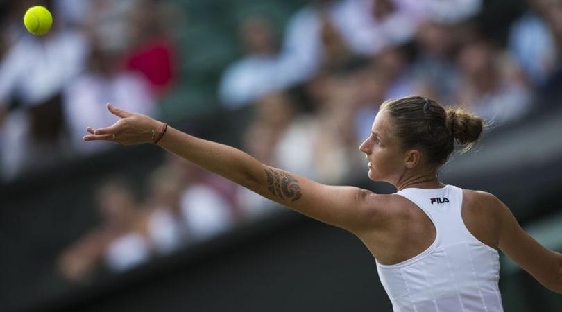 Wimbledon, Pliskova eliminata ma sogna la vetta del ranking