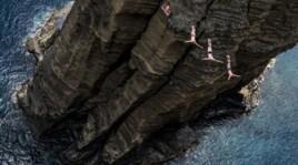 Cliff diving, che spettacolo in Portogallo per le World Series