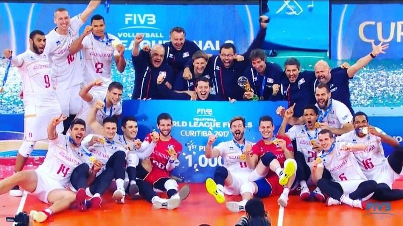 Volley: World League, la Francia vince per il secondo anno consecutivo