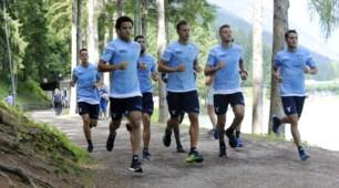 Lazio, corsa nel bosco aspettando Biglia