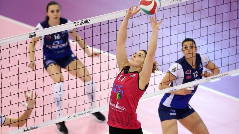 Volley: A2 Femminile, Sara De Lellis nuova palleggiatrice di Chieri