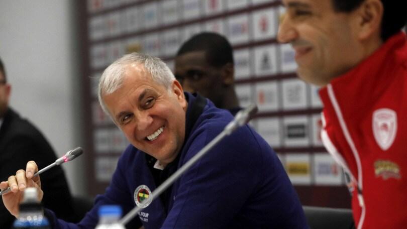 Eurolega, Želimir Obradovic eletto coach dell'anno