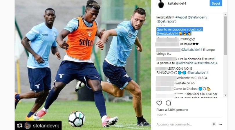 Lazio: sedici goal all'Auronzo ed un Keita in stato di grazia