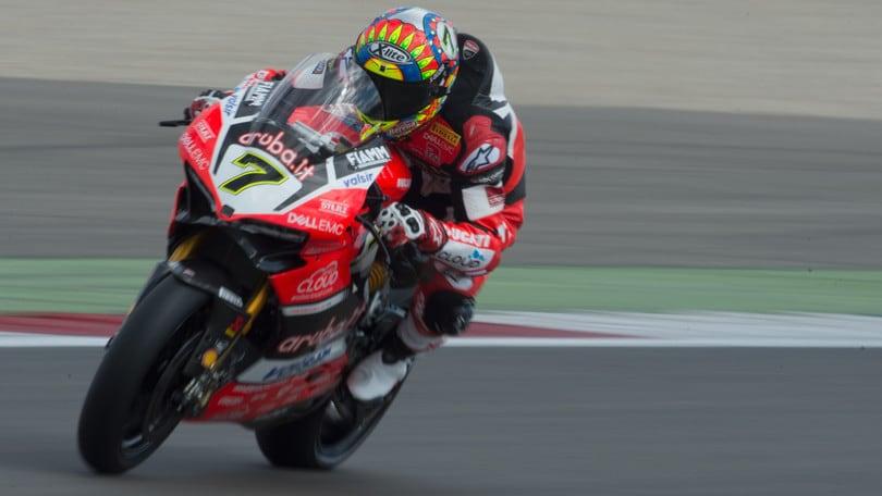 SBK Ducati, Davies: «Ho fatto del mio meglio»