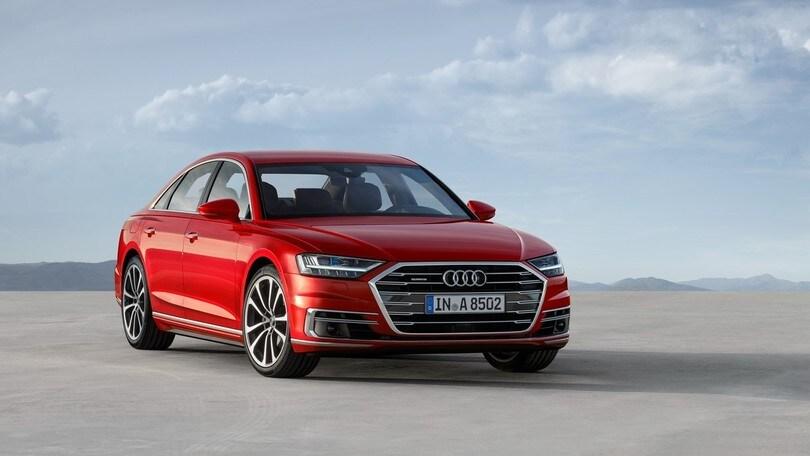 Audi A8, il futuro è arrivato