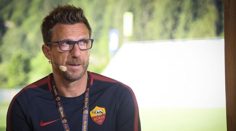 Calciomercato Roma, Di Francesco: «Serve esterno destro d'attacco»