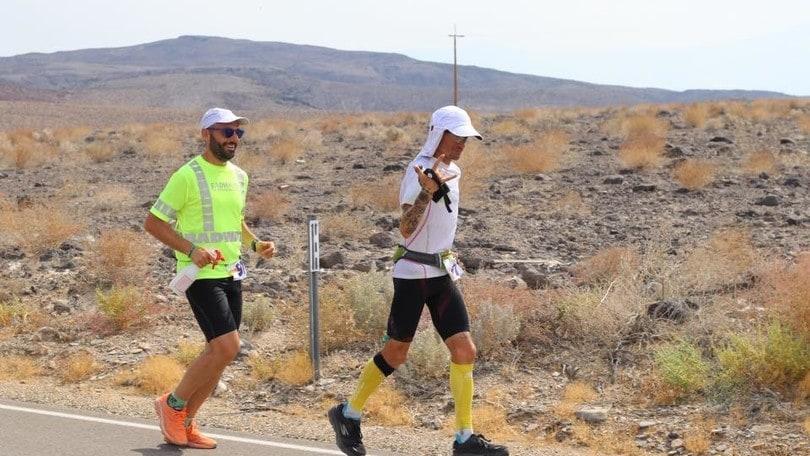 Marco Bonfiglio è secondo alla Badwater ultramarathon