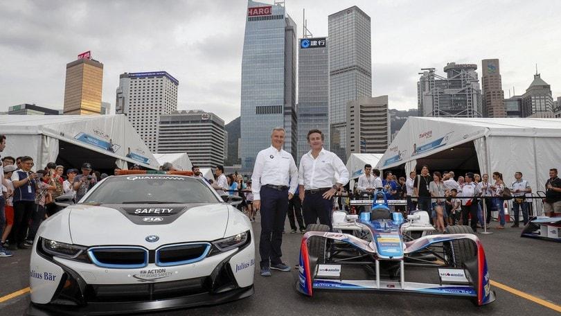 Formula E, BMW ufficializza il debutto nel mondiale elettrico