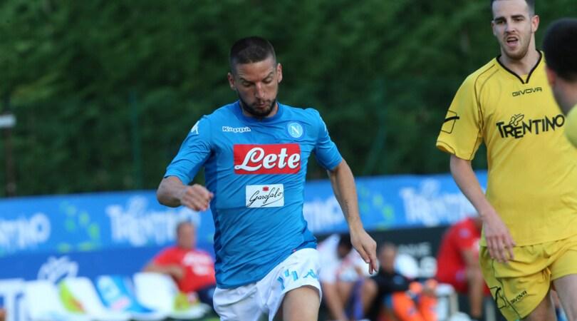 Serie A 2017/2018, Napoli protagonista in lavagna