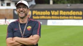 Roma, Di Francesco: «Karsdorp? Sa attaccare e imparerà a difendere»