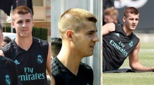 Real Madrid, Morata spiazza tutti! Nuovo look in attesa del futuro