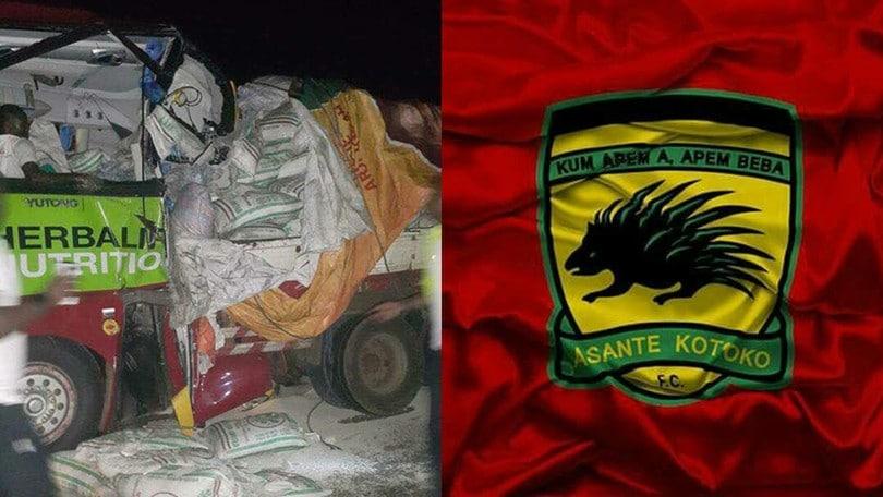 Tragedia in Ghana: incidente stradale per l'Asante Kotoko