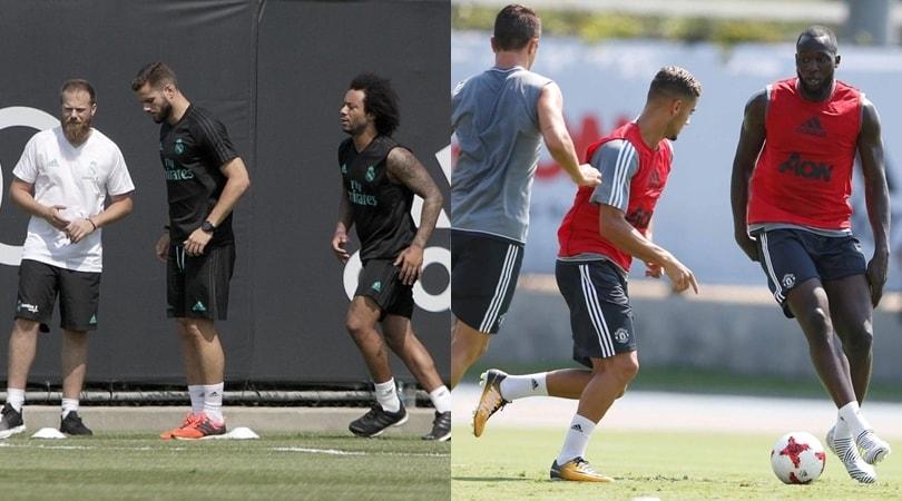 Allarme bomba nel campus di Real Madrid e Manchester United