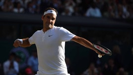 Wimbledon: fuori i big, Federer vola a 1,30