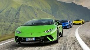 Con la Lamborghini Huracàn in Transilvania: foto